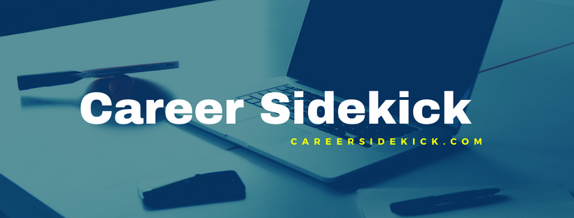 Logo for Career Sidekick career counselling blog.