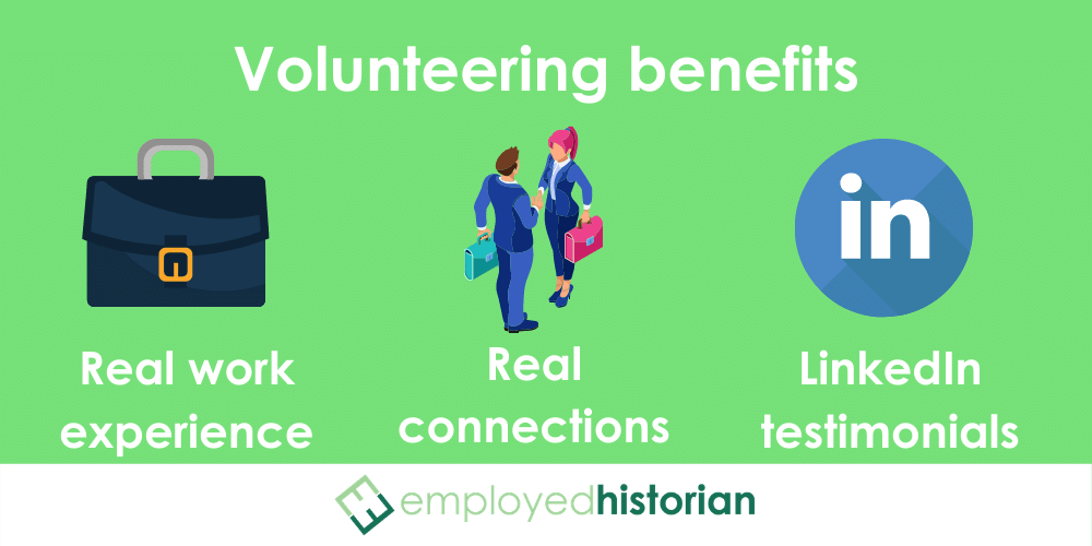 3 core benefits of volunteering to penetrate the hidden job market.