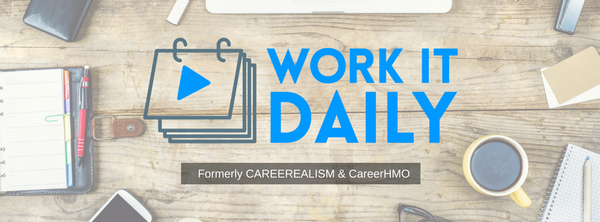 Logo for J.T. O'Donnell's Work it Daily career counselling blog.