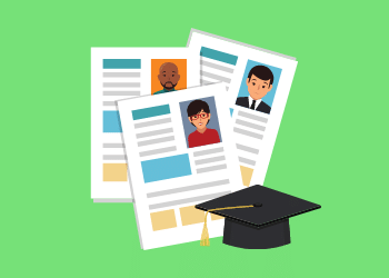 What should a resume look like after college?